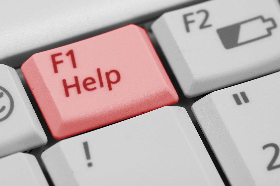 F1 Help Key